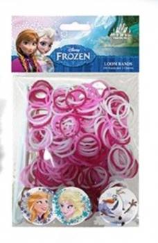 Набор для плетения браслетов Loom Bands Frozen, 200 резинок Loom Bands