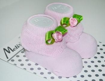 Носки для девочки Melix, 0-6 мес., розовый (91680) Melix