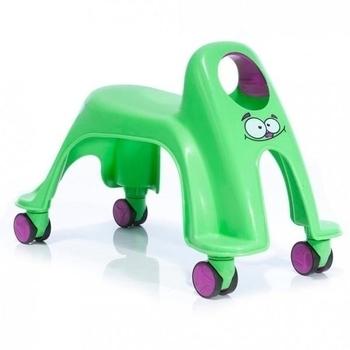 Детская каталка ToyMonster Whirlee, зеленый ToyMonster