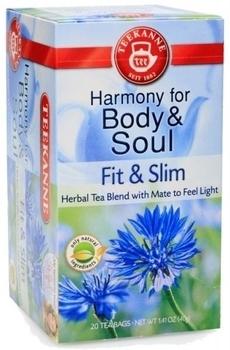 Чай Teekanne Гармония здоровья и стройность, 20 пакетиков Teekanne