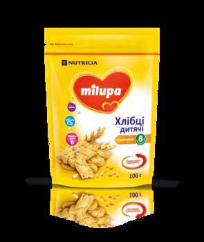 Детские хлебцы пшеничные Milupa, 100 г Milupa