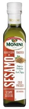 Органическое масло Monini из семян кунжута, 250 мл Monini