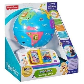 Умный глобус c технологией Smart Stages Fisher-Price, русский Fisher-Price