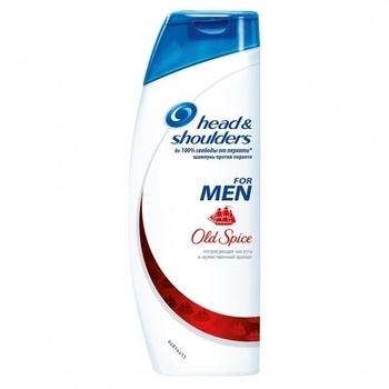 Купить Шампуни и кондиционеры для волос, Шампунь-бальзам для мужчин Head&Shoulders 2 в 1 с ароматом Old Spice, 400 мл