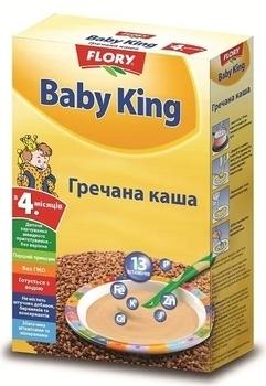 baby king Безмолочная каша Baby King Гречневая, 160 г