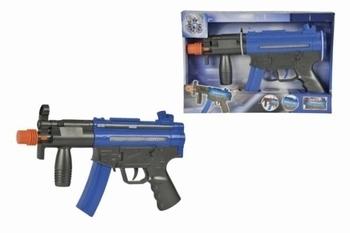 Полицейский пистолет Simba со звуковыми и световыми эффектами, 37 см (8108618) Simba