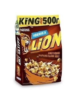 Готовый завтрак Lion, 500 г Nestle