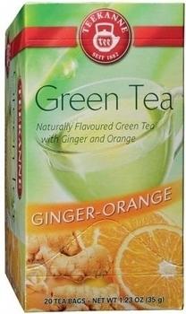 Чай Teekanne Зеленый с Апельсином и Имбирем, 20 пакетиков Teekanne