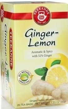 Чай Teekanne Травяной Имбирь и Лимон, 20 пакетиков Teekanne