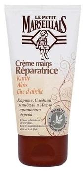 Востанавливающий крем для рук Le Petit Marseillais®  Карите, Алоэ и Пчелиный воск, 75 мл Le Petit Marseillais