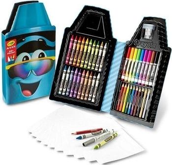 Пенал для творчества Crayola Восковой мелок, синий (04-6898) Crayola