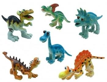 Купить Фигурки, куклы и игрушки-антистресс, Набор фигурок Baby Team Динозавры (8832)