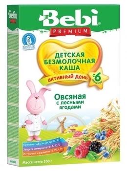 bebi Безмолочная каша Bebi овсяная с лесными ягодами, 200 г 1104422