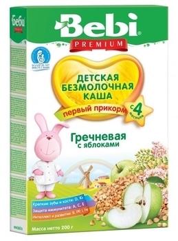 bebi Безмолочная каша Bebi гречневая с яблоком, 200 г 1104300