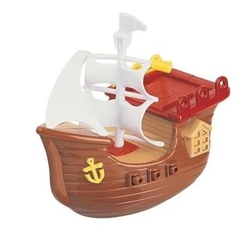 Игрушка для купания Navystar Пиратский корабль с заводным механизмом, коричневый (63985-1) Navystar