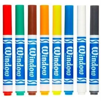 Фломастеры для рисования на стекле Crayola, 8 шт. Crayola