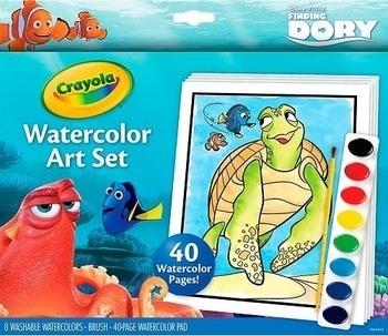 Набор для творчества с красками Crayola В поисках Дори, 8 цветов Crayola