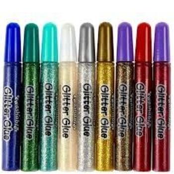 Жидкий клей с блестками Crayola, 9 цветов Crayola