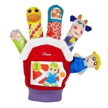 Игрушечная рукавичка Chicco Ферма Chicco