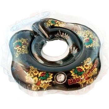Круг для купания малышей BabySwimmer GLAMOUR (от 0 до 24 мес.), хохлома BabySwimmer