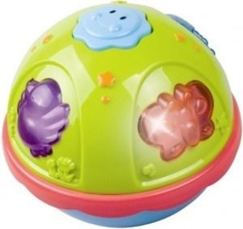 Вращающийся мячик Redbox с музыкой и подсветкой Redbox