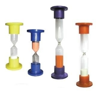 Часы песочные настольные Стеклоприбор, в ассортименте, 17,5х4,8 см, 15 мин. Стеклоприбор
