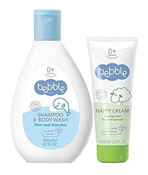 bebble Подарочный набор Bebble (шампунь и крем под подгузник)