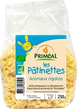 Органическая детская паста Забавные зверушки Primeal 250 г Primeal