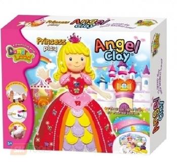 Набор глины для лепки DonerLand Angel Clay Мир Принцесс DonerLand