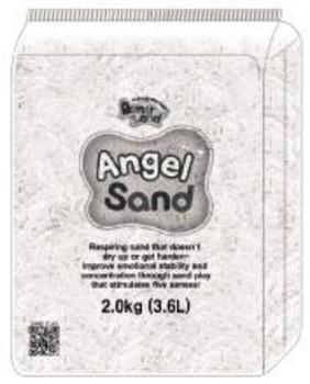 Нежный песок DonerLand Angel Sand, белый, 3,6л (2кг) DonerLand