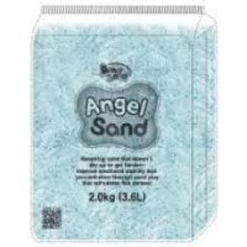 Нежный песок DonerLand Angel Sand, голубой, 3,6л (2кг) DonerLand