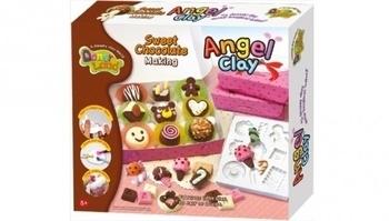 Набор мягкой глины DonerLand Angel Clay Шоколадная мастерская DonerLand