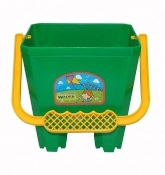 Ведро для песка Tigres Замок, зеленый (39021) Tigres