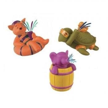 Игровой набор Battat Трио брызгунчиков (черепаха, слон, котик) Battat