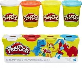 Набор пластилина Hasbro Play-Doh Динозавры, 4х112 г (B6508) Hasbro