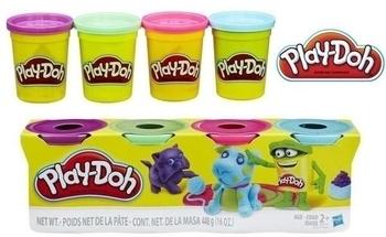 Набор пластилина Hasbro Play-Doh Домашние животные, 4х112 г (B5517) Hasbro