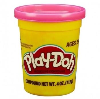 Пластилин Hasbro Play-Doh в баночке, розовый, 112 г (B6756) Hasbro