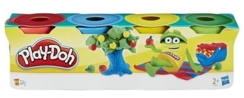 Набор пластилина Hasbro Play-Doh 4 мини-баночки (23241) Hasbro