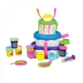 Игровой набор с пластилином Hasbro Play-Doh Праздничный торт (A7401) Hasbro
