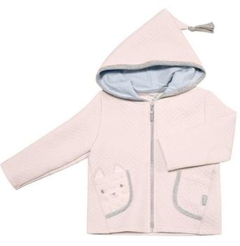 smil Куртка с капюшоном Smil Маленький друг, р.74, капитон, розовый (116271)
