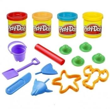 Игровой набор с пластилином Hasbro Play-Doh Ведерочко Морские обитатели (23242) Hasbro