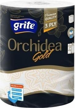 Бумажные полотенца Grite Orchidea, 1 рулон Grite
