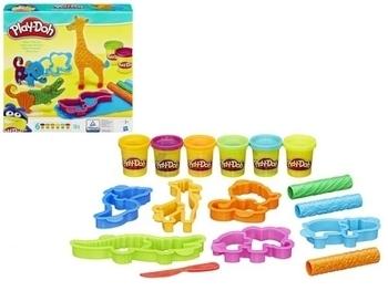 Игровой набор с пластилином Hasbro Play-Doh Веселое сафари (B1168) Hasbro