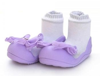 attipas Текстильная обувь Attipas Crystal, р.20 (109-115 мм), фиолетовые AQ02-Violet-20