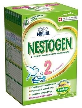 Сухая детская молочная смесь Nestogen 2, 700 г Nestogen
