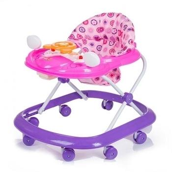 Ходунки Babyhit First step, фиолетовый с розовым Babyhit