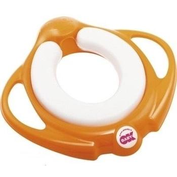 Накладка - сидение на унитаз OK Baby Pinguo Soft, оранжевый OK Baby