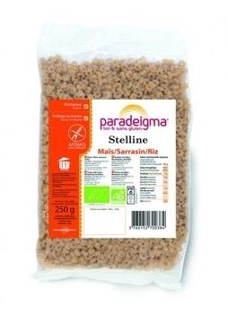 Макароны Paradeigma Stelline из кукурузной, гречневой и рисовой муки, 250 г Paradeigma