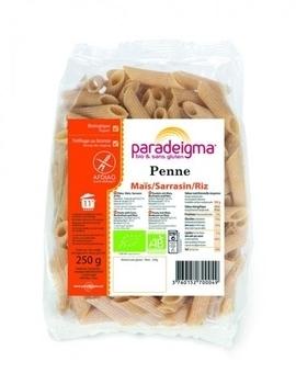 Макароны Paradeigma Penne из кукурузной, гречневой и рисовой муки, 250 г Paradeigma