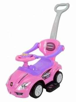 Толокар Ocie Magic Car с ручкой, розовый (U-042hP) Ocie